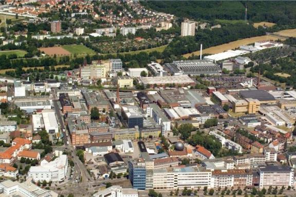Heraeus Hauptwerk Hanau klein