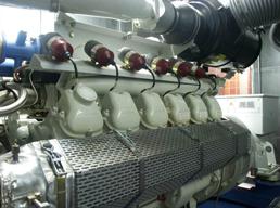 Blockheizkraftwerk Faulgasnutzung