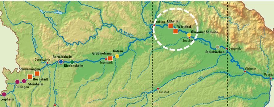 Flutpolder-Standorte Donau UNGER ingenieure