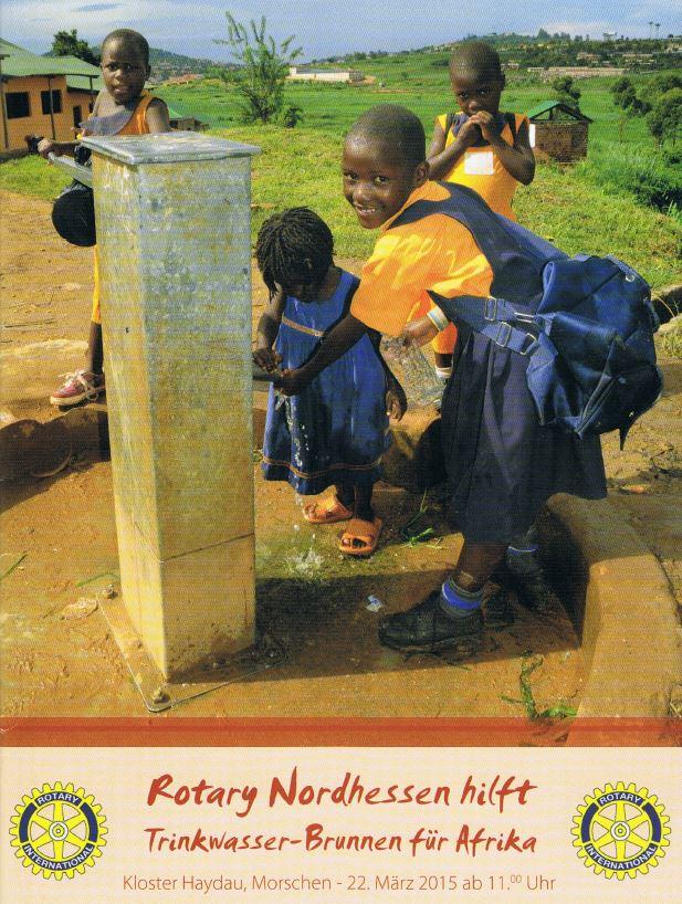 Rotary Brunnen für Afrika