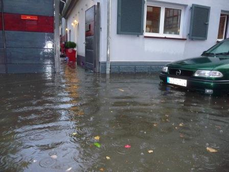 Starkregen Ueberflutungsvorsorge